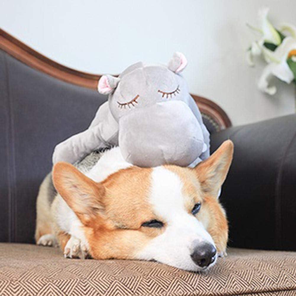 Juguetes De Peluche para Mascotas Juguete De Peluche Snuggle Juguete De Ayuda Conductual Heartbeat Dog Toy para Reconstruir Intimidad,Reducir Tensi/ón Mascotas,ansiedad Y Los Malos Comportamientos.