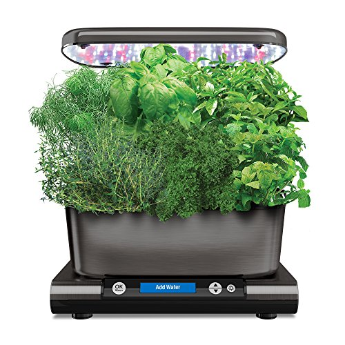 Miracle-Gro AeroGarden Harvest Elite with Gourmet Herb Seed Pod Kit, Platinum