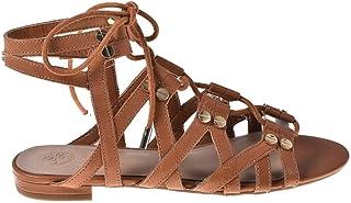 Guess Sandales FL6RAM-LEA03 Marron Chaussures