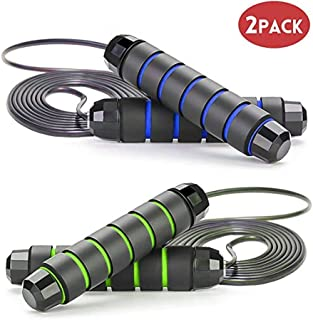 Jump Rope Tangle-Free with Ball Bearings Rapid Speed...