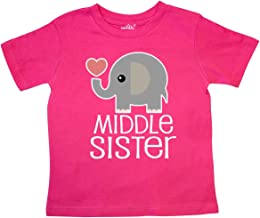 inktastic Middle Sister Outfit Toddler T-Shirt