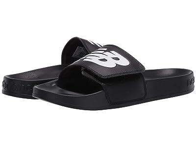 New Balance Kids 200Av1 (Little Kid/Big Kid) (Black/White) Kids Shoes