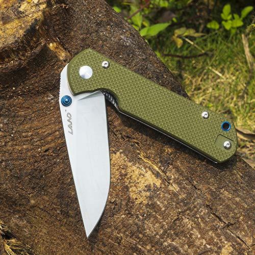 Land 9102 911 Lock Pocket Folding Knife 12C27 Stainless Steel Blade