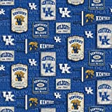 University of Kentucky UK Wildcats Baumwollstoff mit