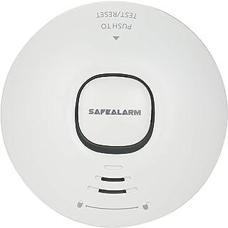 Ftiqe Wifi Smoke Detector Smart Fire Alarm Sensor Wireless Security System Smart Life Tuya APP Control Smart Home For Home...
