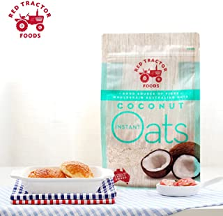 Red Tractor Foods, Coconut Omega 3 Instant Oats, Farmed for Taste