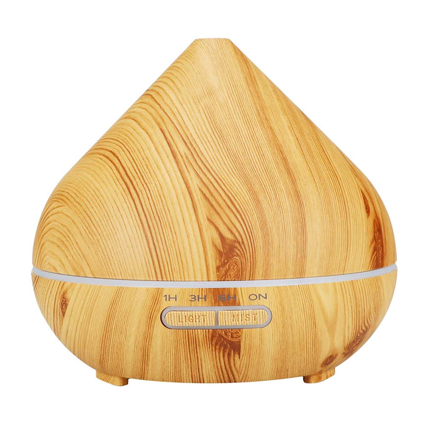 Mini Humidifiers For Desk,Wood Grain Home Diffuser Ultrasonic Air Humidifier Purifier High Capacity 300ml,Aromatherapy Humidifier Air Innovations,B,Free Size