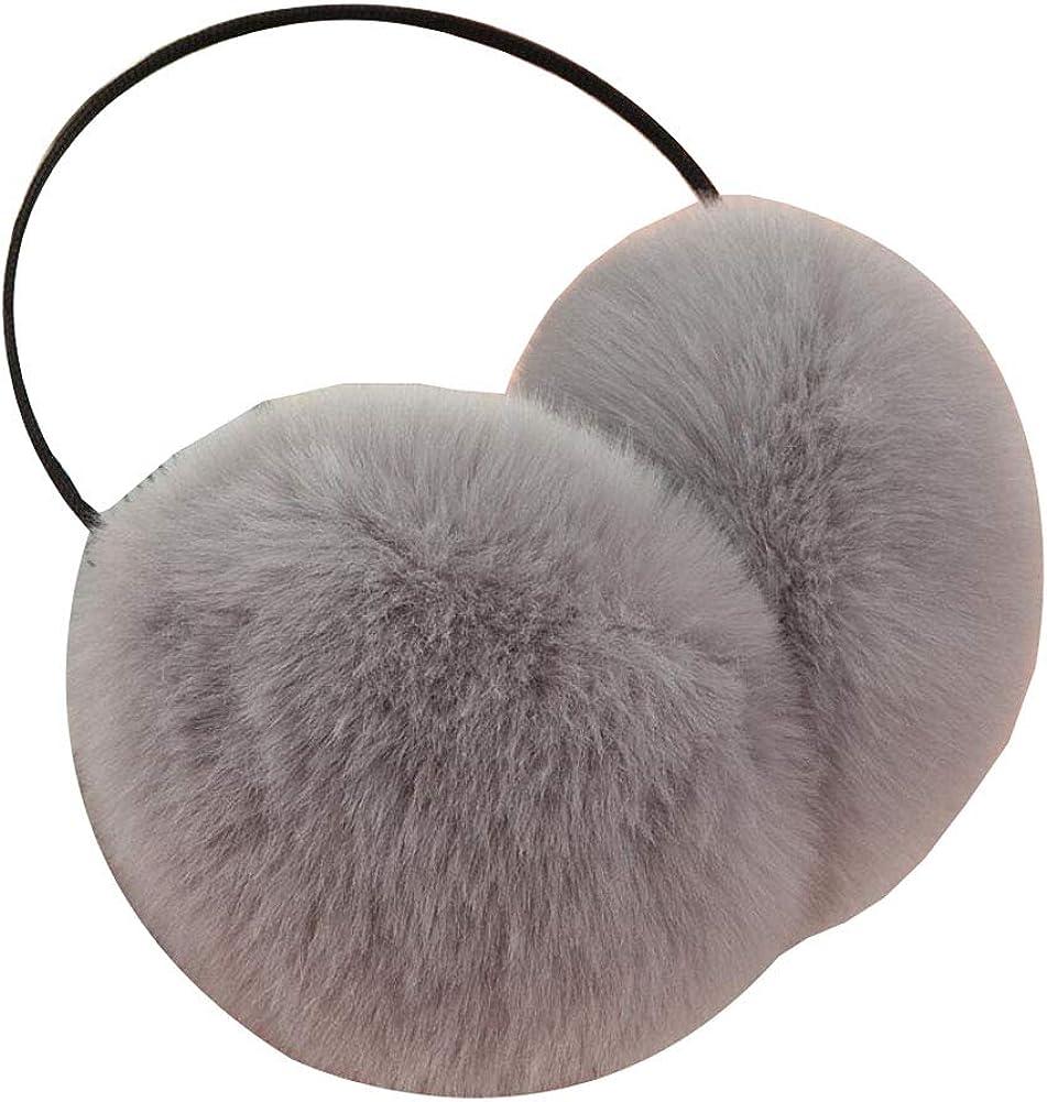 Cute Animal Soft Earmuffs Winter Warm Outdoor Ear Covers Headband Fur Ear warmer,#A2