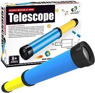 Yamix Kids Telescope DIY Assemble Toy Set STEM Educational Toy Science Kit for Kids Age 8+ Boys Girls