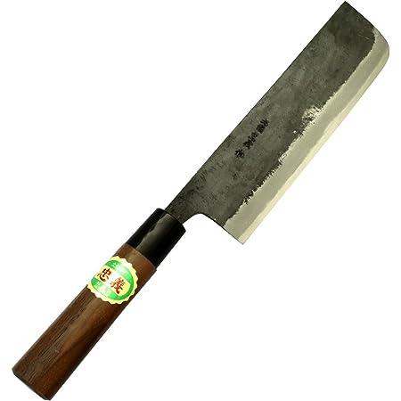 土佐刃物 包丁 黒打ち 菜切り包丁 青鋼 1号 165mm