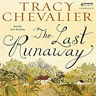 The Last Runaway audiobook cover art