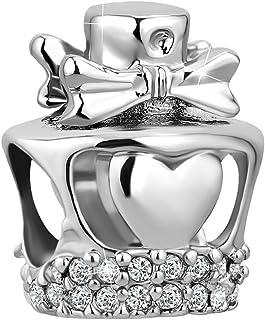 CharmSStory Perfume Bottle Charm Bead for Bracelet