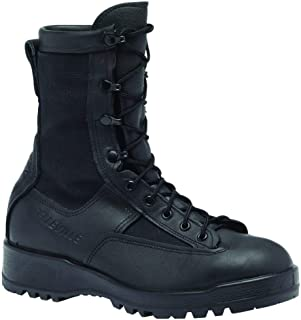 770 Waterproof Insulated Combat and Flight Tactical Duty Boot, Black