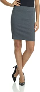Women's Ease Into Comfort Above The Knee Stretch Pencil Skirt 19 inch