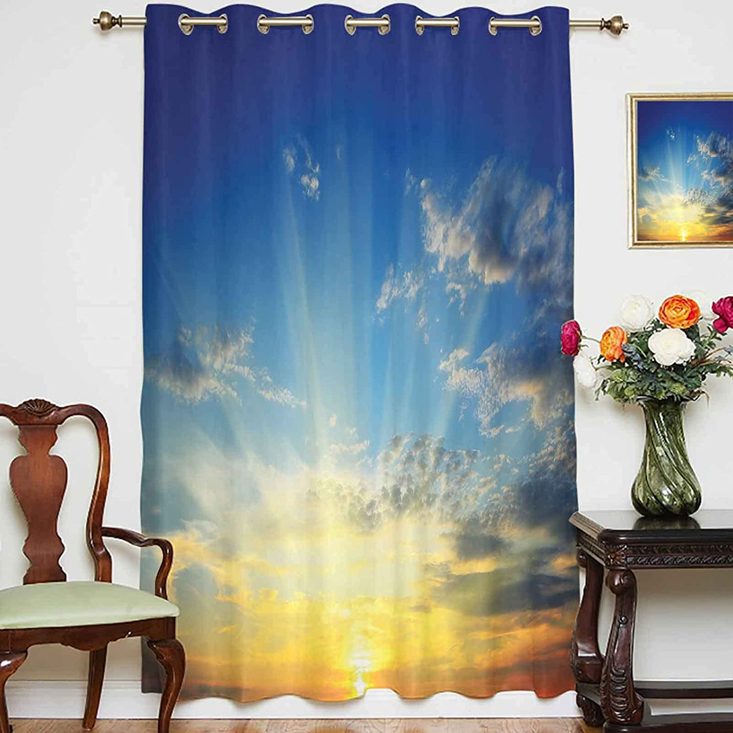 Blackout Shading Curtains Beaming Sun The Japan's largest assortment Majestic Above Horizon Ranking TOP17