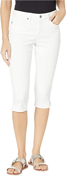 Skinny Capris in Optic White