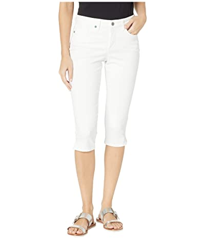 NYDJ Skinny Capris in Optic White (Optic White) Women