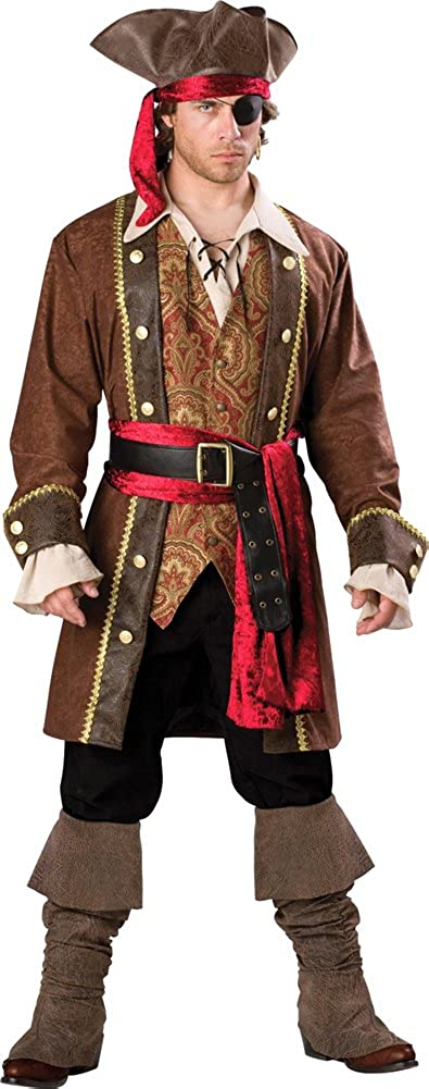 InCharacter Men's Captain Skullduggery Pirate Costume Fort Worth Mall Ranking TOP6 X-Large