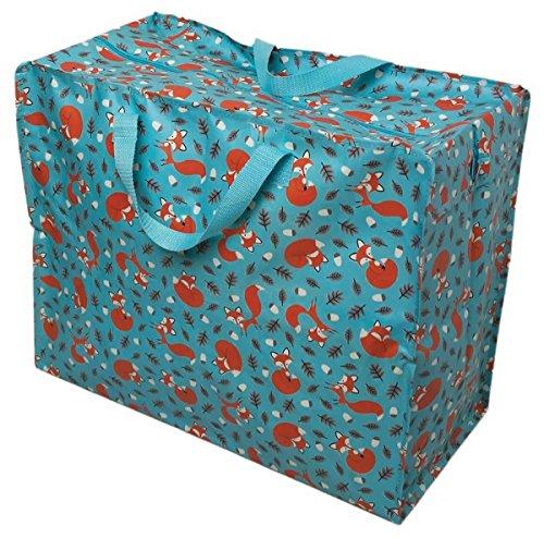 LS Design XXL Jumbo Bag Einkaufstasche Shopper Riesentasche Tasche Allzwecktasche Recycled Fuchs