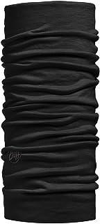 Buff Merino Wool Multi Functional Headwear - Black, One Size
