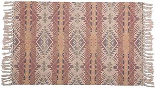 YEZINB Borlas de alfombras Tejidas de algodón nórdico Alfombra deDormitorio Colcha EsteraSimple Mesa Moderna Ruuners Alfombra de Cocina Decoración del hogar, 5,60x130cm