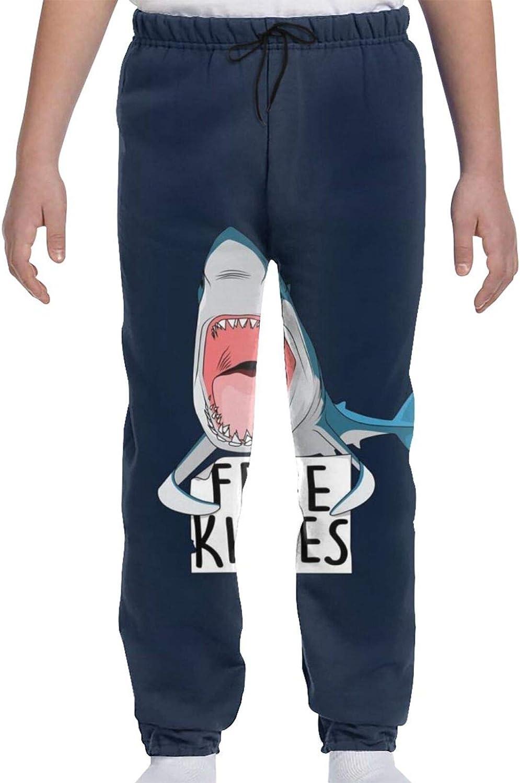 Superior Shark Free Kisses Youth Sweatpants Teens Sales Trousers 3D Boys Print