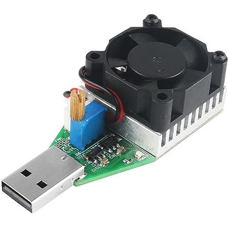 Usb Load Tester Elektronischer Belastung Sprüfer Voltmeter Multimeter Einstellbarer Baumarkt