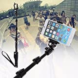 CEUTA® Selfie Stick Bluetooth, Lightweight Monopod with Bluetooth Remote Compatible iPhone 11/Pro Max/XS/Max/XR/X/8/8P/7/7P/6S