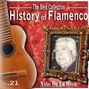 The Best Collection. History Of Flamenco. Vol. 22: Niño De La Rosa Fina