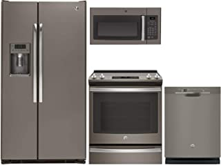 GE 4-Piece Kitchen Package with GZS22DMJES 36