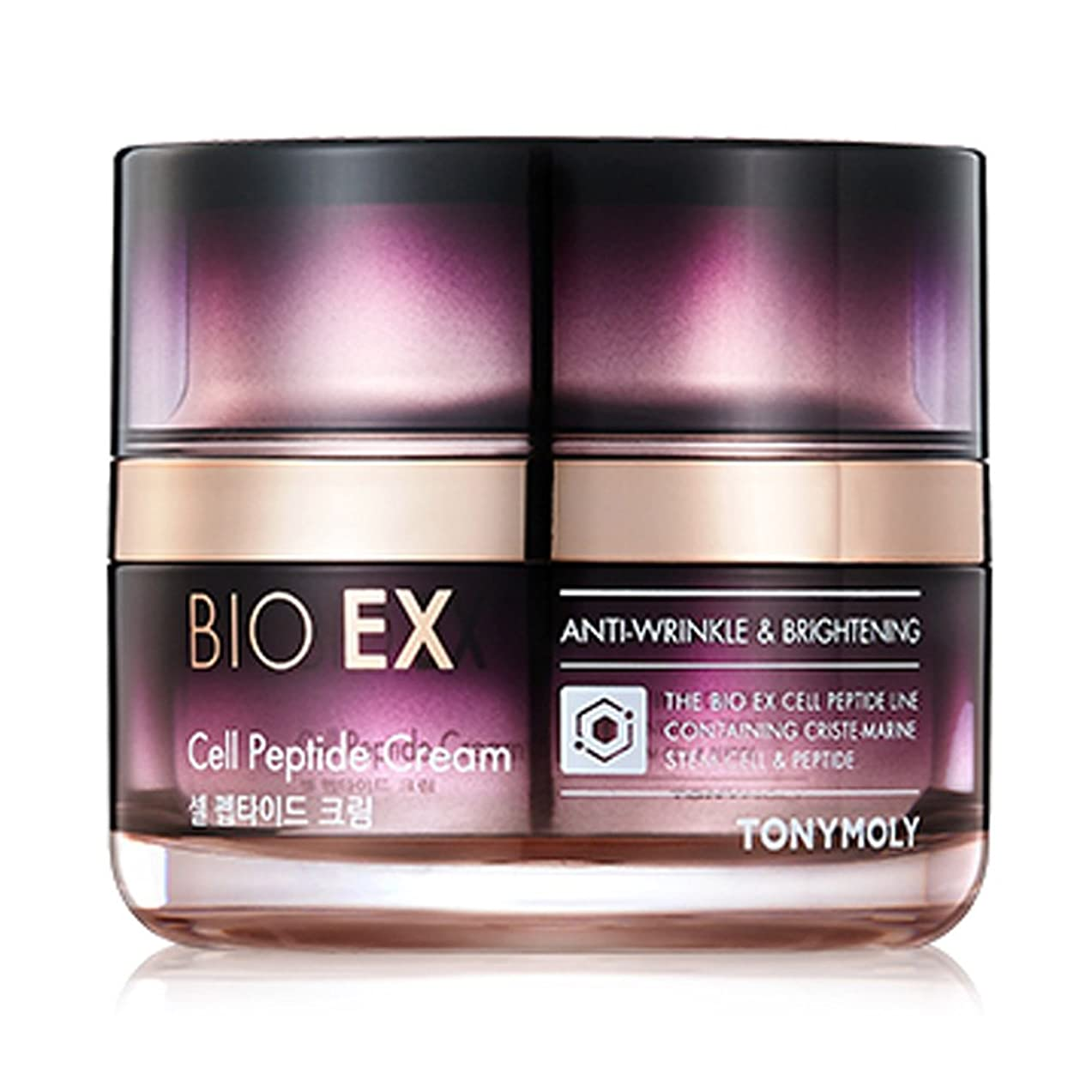 元に戻す行く浸すTONYMOLY BIO EX Cell Peptide Cream 60 ml