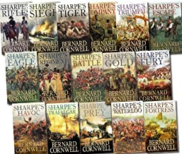 Bernard Cornwell Sharpe's War Battle Collection 16 Books Set Pack RRP £111.84 (Waterloo, Siege, Regiment, Company, Battle,...