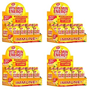 (Pack of 48) VitaminEnergy™ Immune Shot, Zero Butter Energy Shot, Dietary Supplements, Keto Friendly Energy, 0 Carbs Drink, Vitamin C, Vitamin D3 VitaminEnergy Tango Orange, 1.93 Fl. Oz., Up to 7+ Hours of Energy