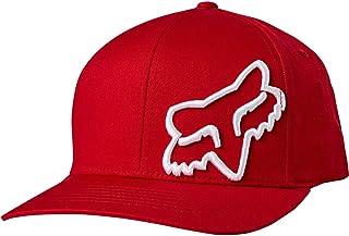 Fox Racing Big Boys' Flex 45 Flexfit Hats,One Size,Chili