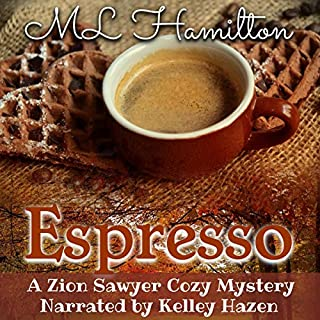 Espresso audiobook cover art