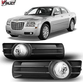 Winjet WJ30-0445-09 OEM Series for [2005-2007 Chrysler 300] Driving Fog Lights + Switch + Wiring Kit