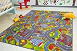 Kinder Teppich City - Straßen und Spiel Teppich