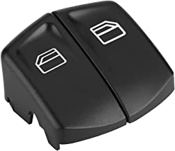Cubierta de botón de interruptor de ventana eléctrica derecha e izquierda tapa