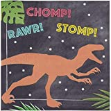 Confezione da 100 tovaglioli di carta Dino per feste di dinosauro (15,5 x 16,5 pollici)