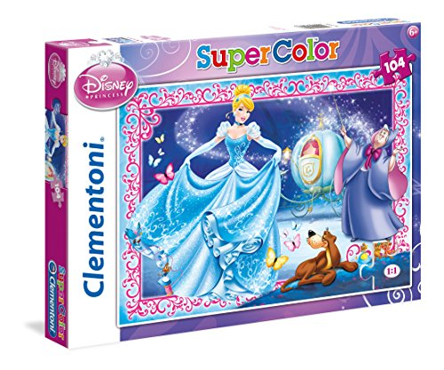 Disney - Puzzle, 104 Piezas, diseño Cenicienta (Clementoni 279166)