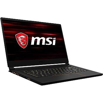 MSI GS65 9SE-461 Stealth (39,6 cm/15,6 Zoll/240Hz) Gaming-Notebook (Intel Core i7-9750H,16GB RAM, 1TB PCIe SSD, Nvidia GeForce RTX2060 6GB, Windows 10 Pro)