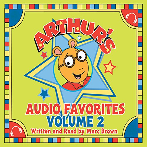 Arthur's Family Vacation audiobook cover art