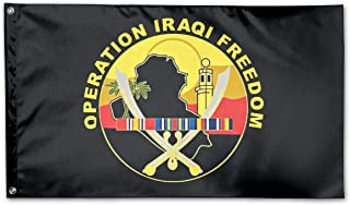 Operation Iraqi Freedom Veteran Flag Polyester Flag Indoor/Outdoor Banner Flags 3x5 Best Gift