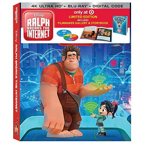 Ralph Breaks the Internet 4K Limited Edition (4K Ultra+Blu-Ray+Digital) with Filmmaker & Storybook