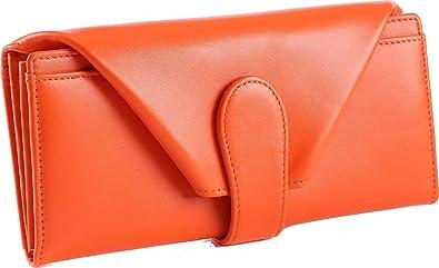 [レガーレ] 長財布 レディース 財布 大容量 ギャルソン ガバッと開く チリトリ型 小銭入れ