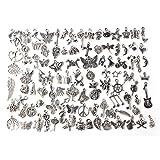 Charms, Bestim Incuk, 100 Stück, gemischte tibetische Anhänger für Schmuckherstellung, Armband, Halskette, DIY Handwerk