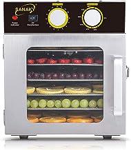 Déshydrateur commercial de nourriture d'acier inoxydable, légumes et viande avec le contrôle de température réglable et la...