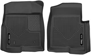 Husky Liners - 53311 Fits 2009-14 Ford F-150 without Manual Transfer Case Shifter X-act Contour Front Floor Mats Black