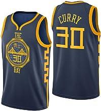 Golden State Warriors Swingman Jersey Sin Mangas Chaleco Deportivo Malla Bordada Resistente al Sudor Transpirable Se Puede Limpiar repetidamente Stephen Curry # 30 Jersey de Baloncesto