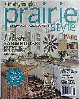 Country Sampler Prairie Style Summer 2017 Fresh Farmhouse Style